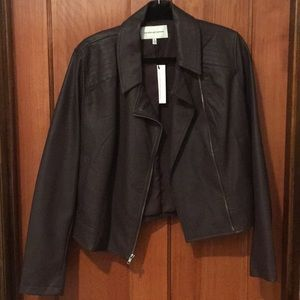 NWT Cupcakes and Cashmere Vegan Leather